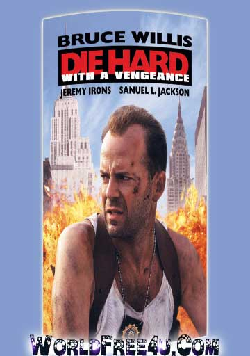 Poster Of Die Hard: With a Vengeance (1995) In Hindi English Dual Audio 300MB Compressed Small Size Pc Movie Free Download Only At worldfree4u.com