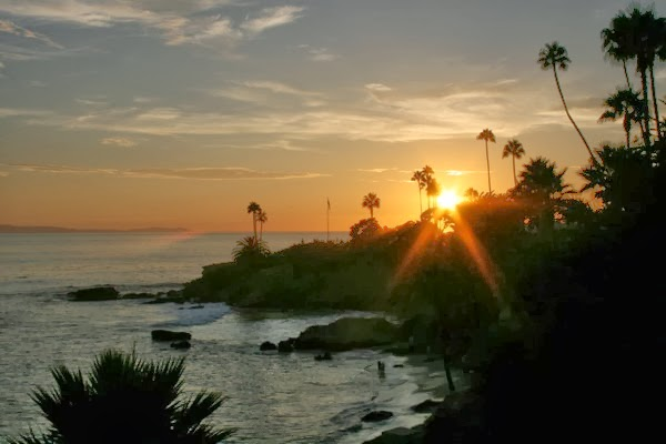 Laguna Beach sunset California