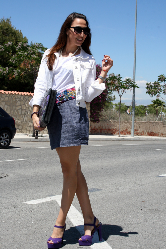 PURPLE SANDALS - Blog Estilo Stiletto