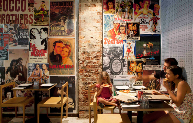 Pizzeria Design Ideas Pizza Restaurants Vintage Posters Wall Decor Perth