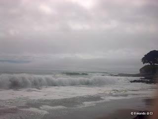 Santa Cruz, CA, USA, le onde d'ottobre