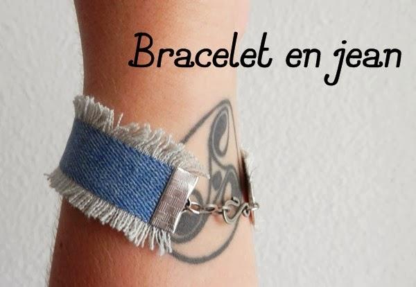 diy le bracelet en jean caro dels blog diy et loisirs cr atifs. Black Bedroom Furniture Sets. Home Design Ideas