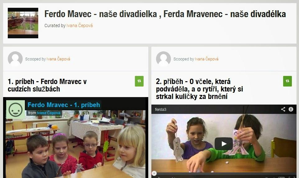 http://www.scoop.it/t/ferdo-mavec-nase-divadielka-ferda-mravenec-nase-divadelka