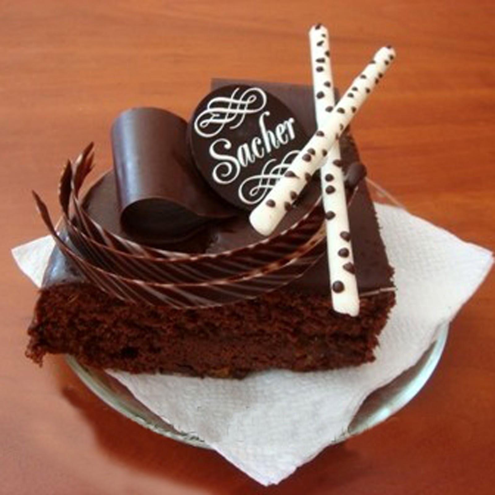 Шоколадный торт в подарок