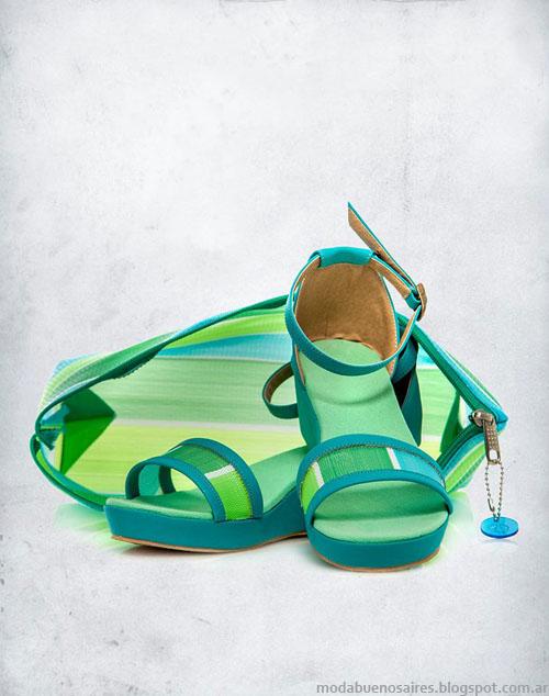 Valeria nicali calzado femenino moda verano 2014. Sandalias moda 2014.