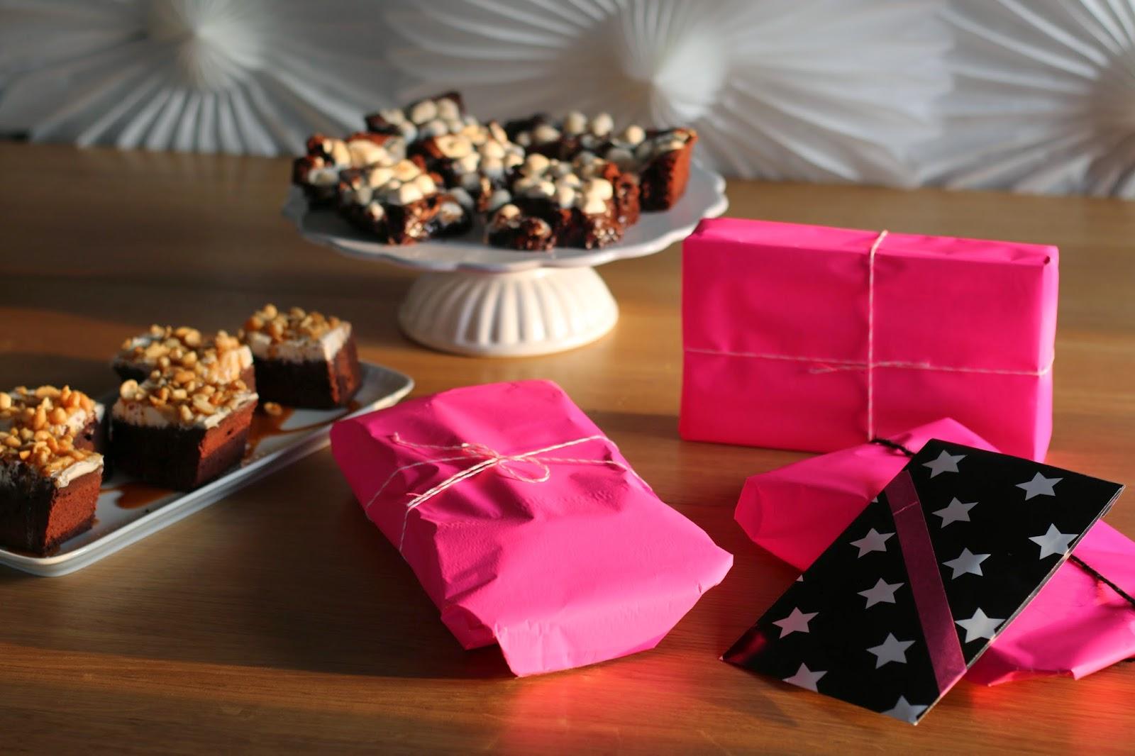 Brownies, Geburtstag, Kindergeburtstag, Garn und mehr, backen, Erdnuss-Karamell-Brownies, Marshmallows-Brownies