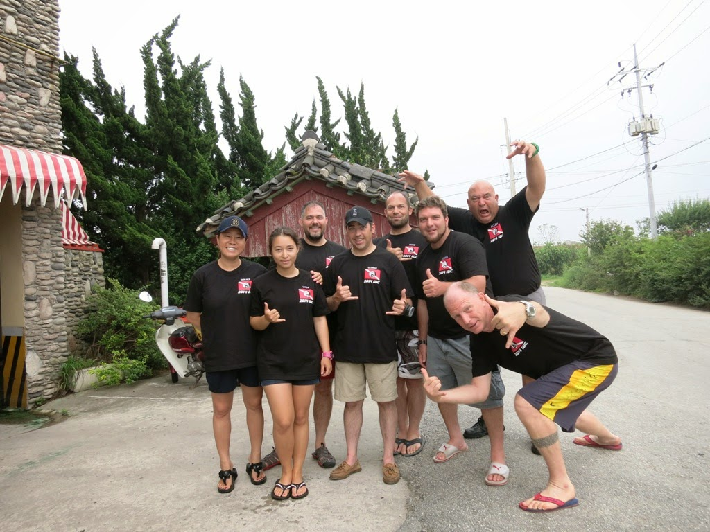 PADI Instructor specialty training in Sacheon-myeon in South Korea
