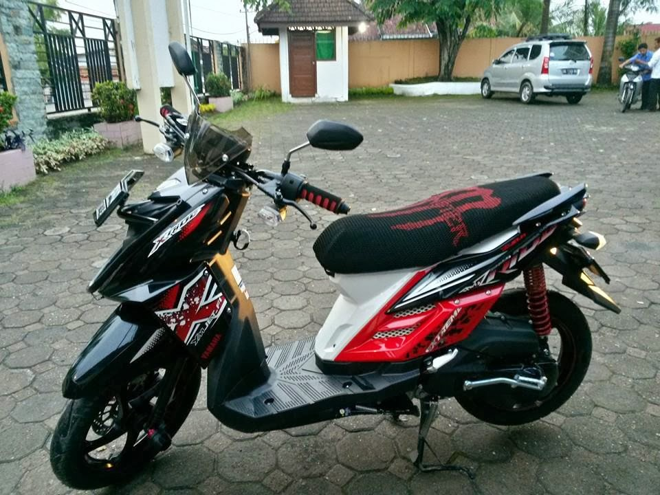 modifikasi yamaha x ride