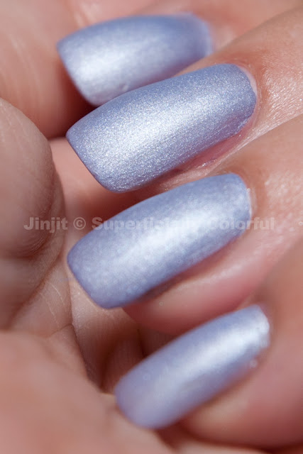 Violet Matte Pastel by The Nail Junkie