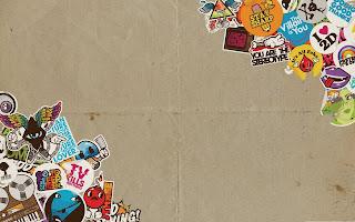 Paper Cardboard Logos Stickers Labels HD Wallpaper