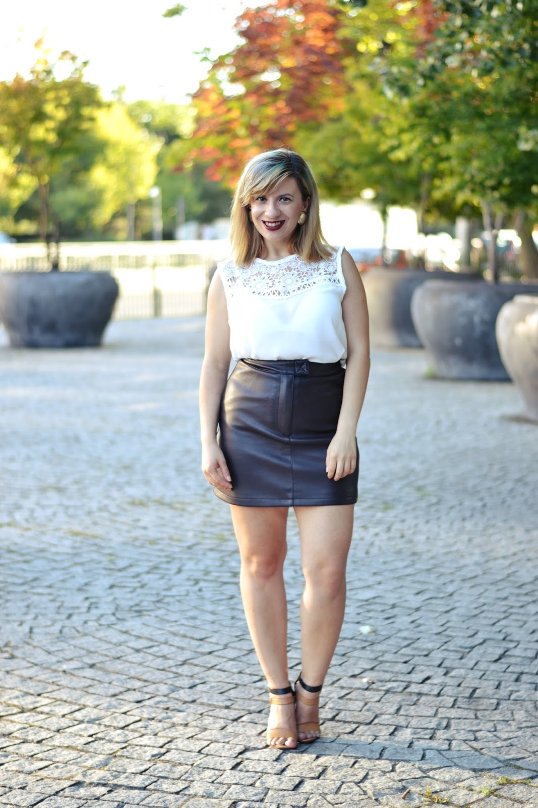 Leather skirt instagram – Fashionable skirts 2017 photo blog