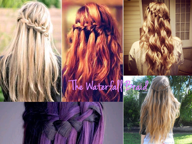 different braids, types of braids, braid, braid bible, how to braid, hair inspiration, hair, hair styles, pretty, hair do, lesimplyclassy, lesimplyclassy blog, le simply classy, le simply classy blog, samira hoque, styling, waterfall braid, the waterfall braid, how to waterfall braid, pretty types of braids, pretty waterfall braid, colourful waterfall braid, easy waterfall braid