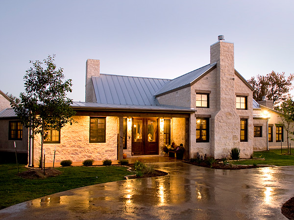 Texas hill country homes with metal roofs joy studio for Texas country home plans