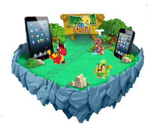 isla para jugar dragon city en iphone y ipad