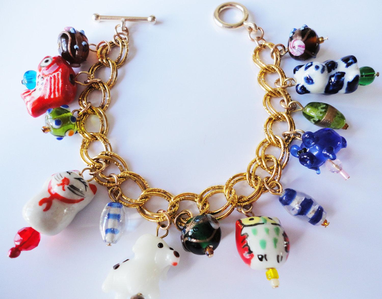 kawaii cutie lwork animal charms bright