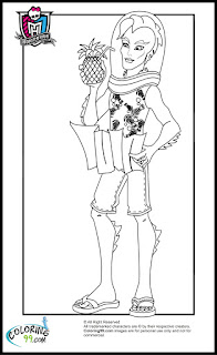 monster high boys gillington gil webber coloring pages