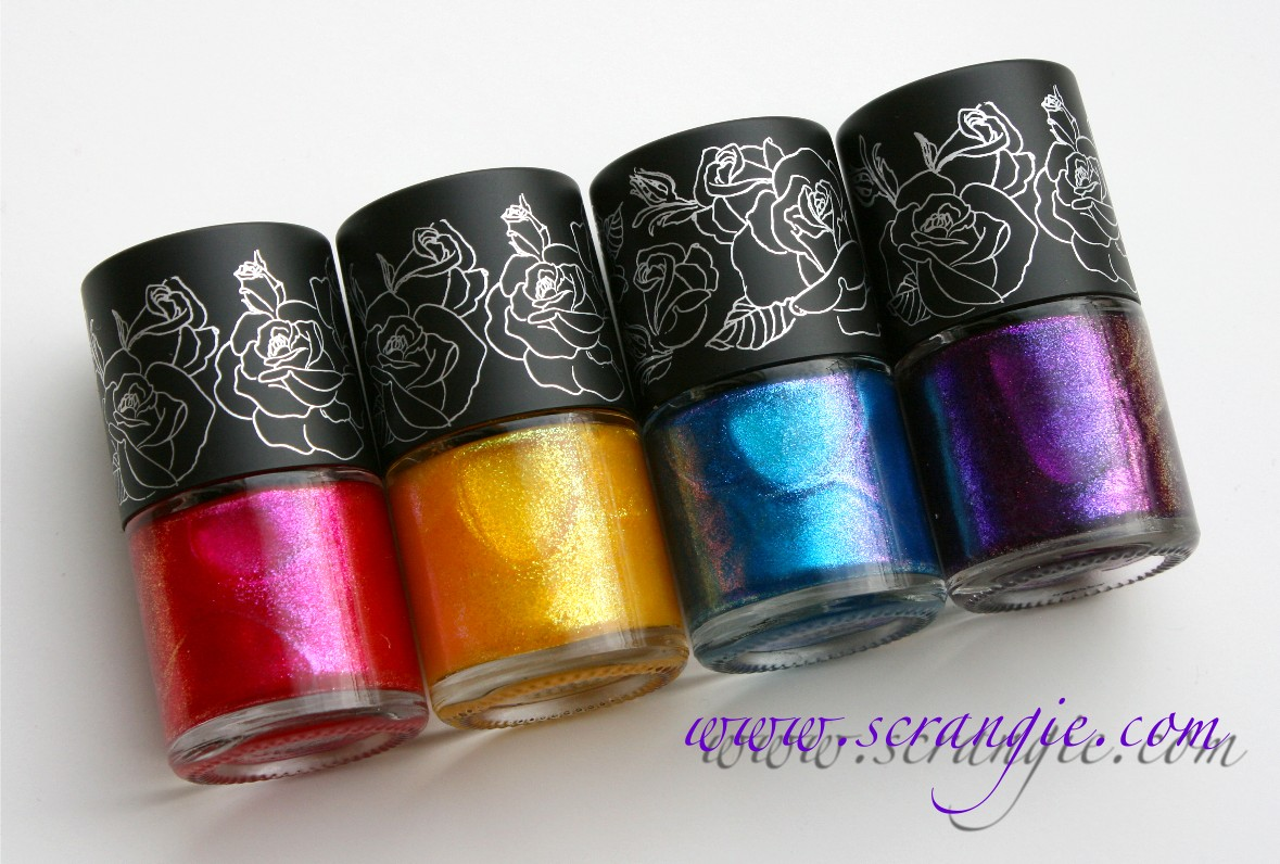 Scrangie: New Kat Von D For Sephora High Voltage Lacquer Collection ...