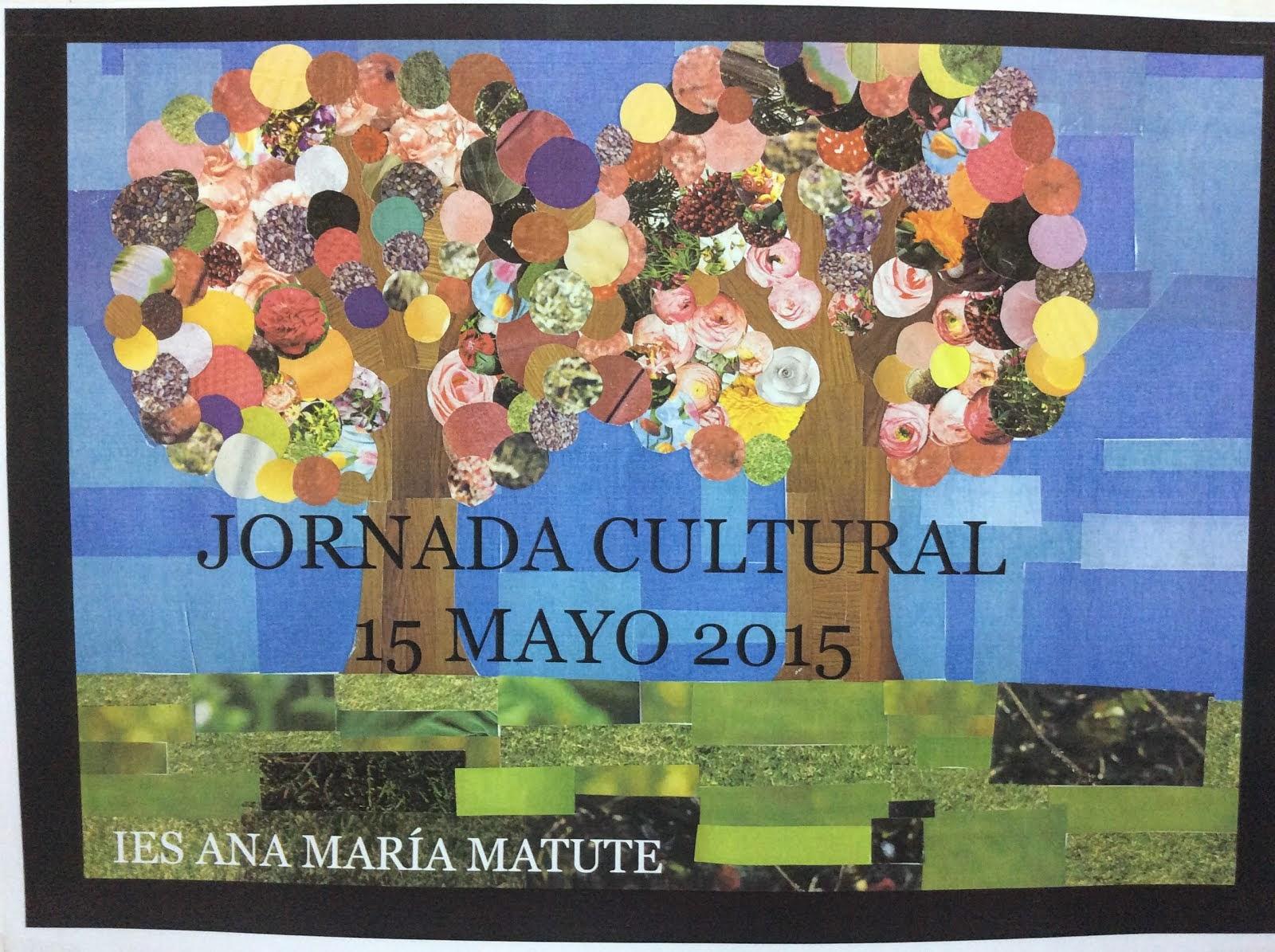 Cartel ganador de la Jornada Cultural 2015.