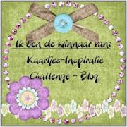 Kaartjes inspiratie challenge - winnaar