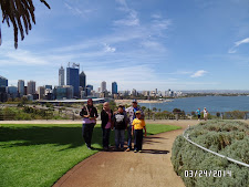 At Kings Park and Botanical Gardens, Perth, Australia