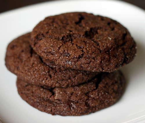 CRUNCHY CHOCOLATE COOKIES