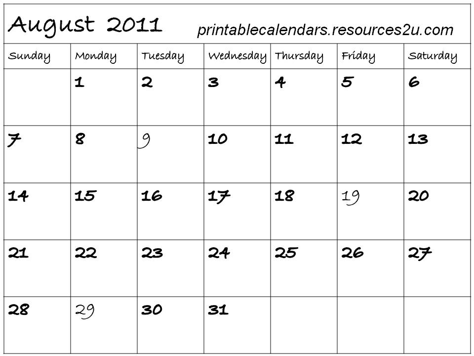 Printable Calendar August 2015/page/2 | Search Results | Calendar 2015 ...