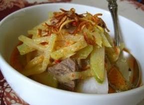 Resep Ketupat Sayur Labu Siem Enak Dan Nikmat