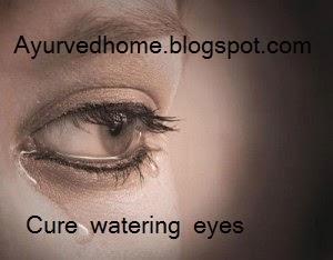 Watering Eyes Treatment in Ayurveda