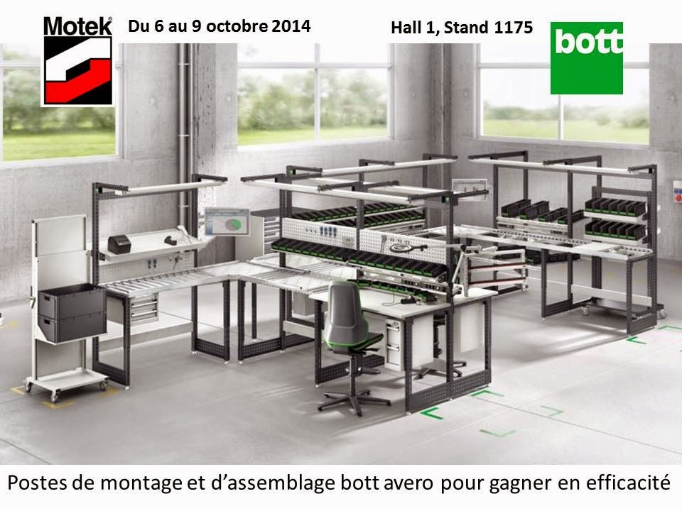 Bott 2014 for Salon des technologies