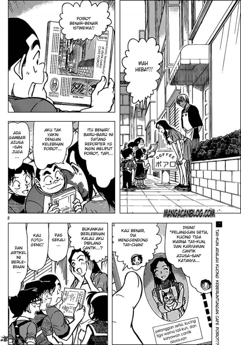 Komik detective conan 865 - si kucing belang 866 Indonesia detective conan 865 - si kucing belang Terbaru 1|Baca Manga Komik Indonesia|Mangacan