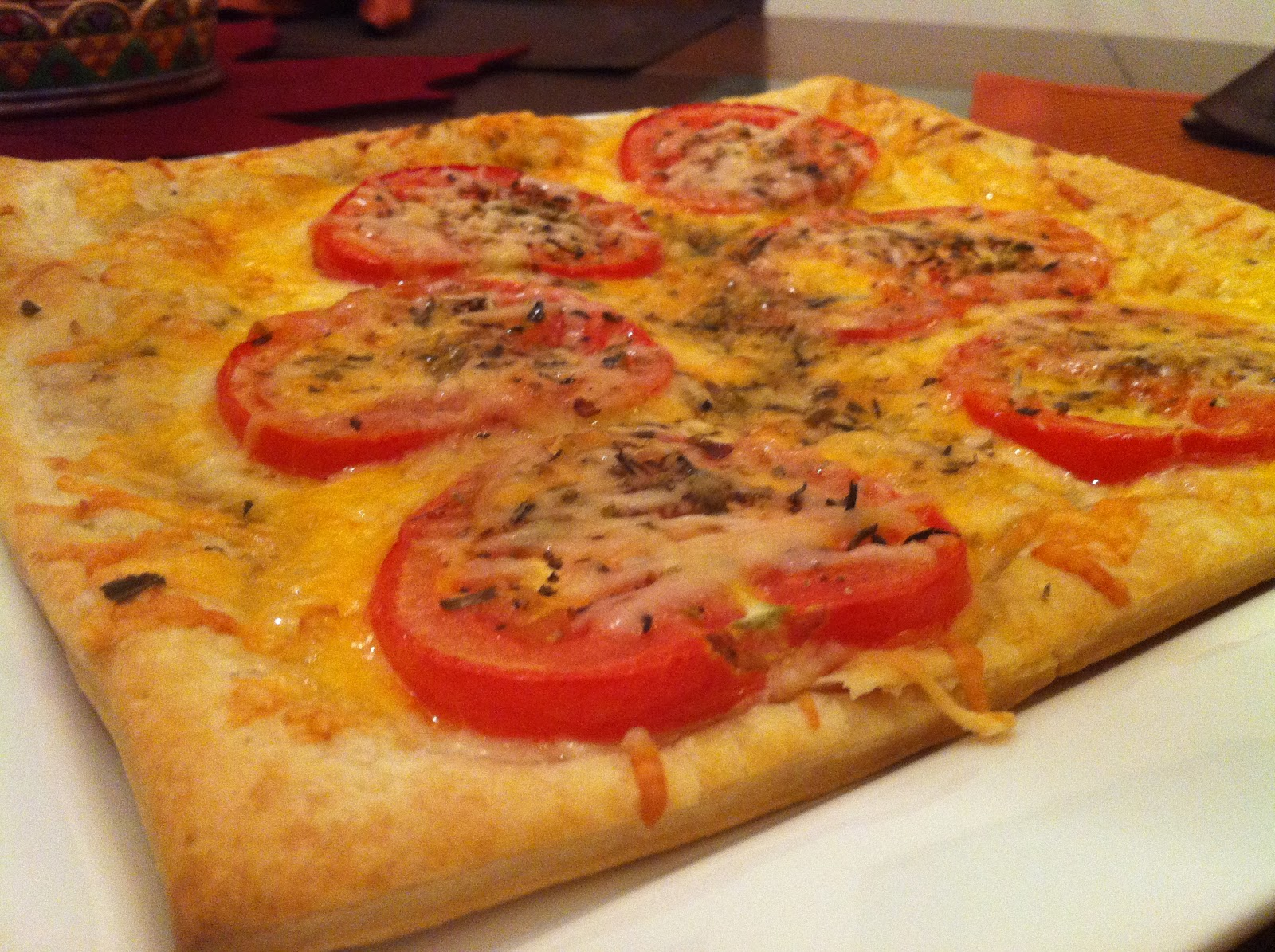 Musings or Ramblings?: Recipe: Three Cheese Tomato Tart