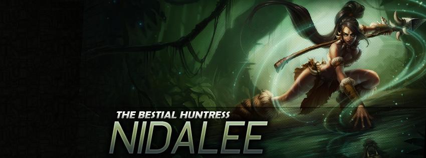 Ảnh bìa Facebook - Tướng Nidalee Liên Minh Huyền Thoại - LOL