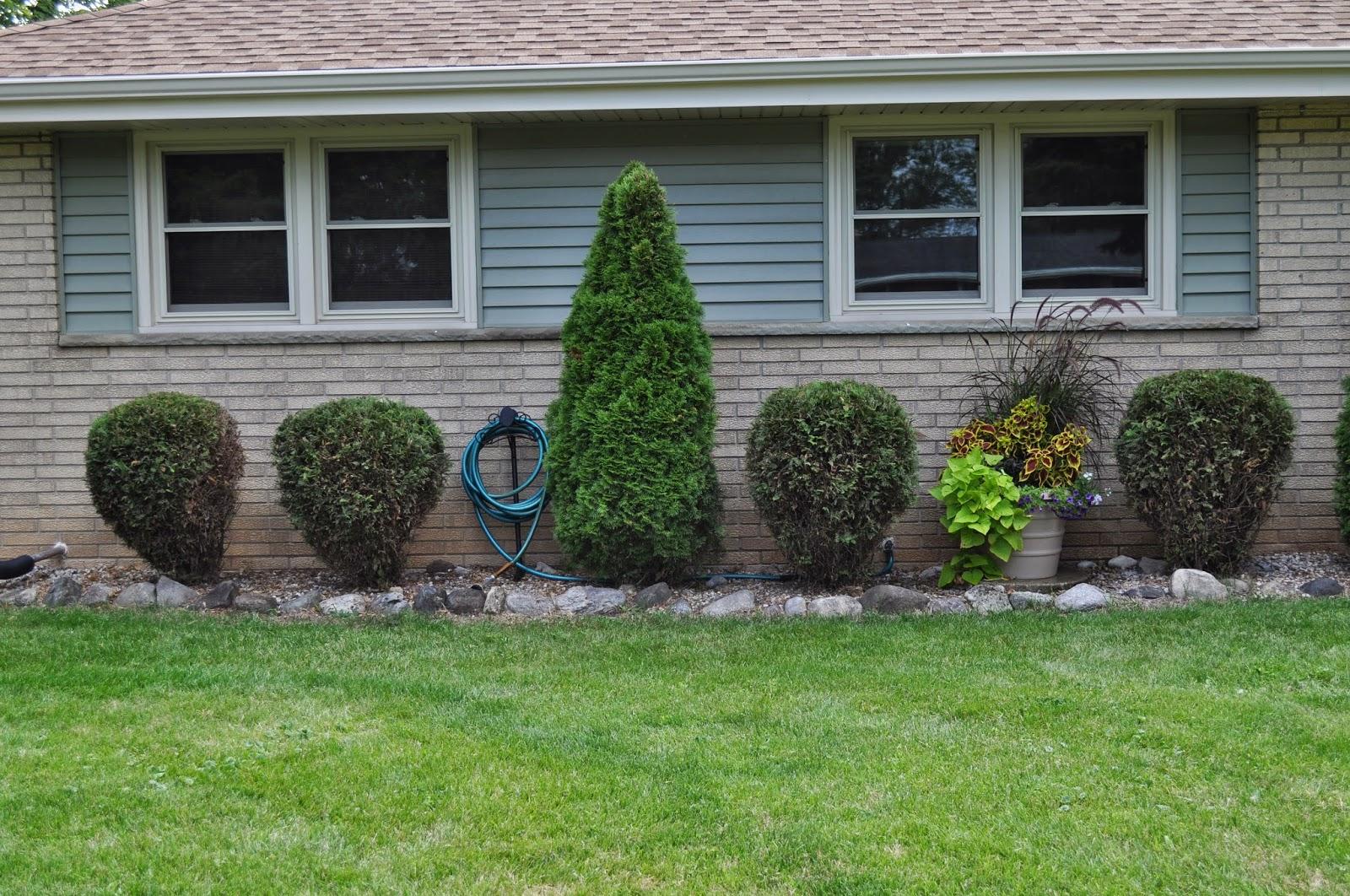hose reel, hose, outside, landscaping, watering, dilemma, second house, diy, menards