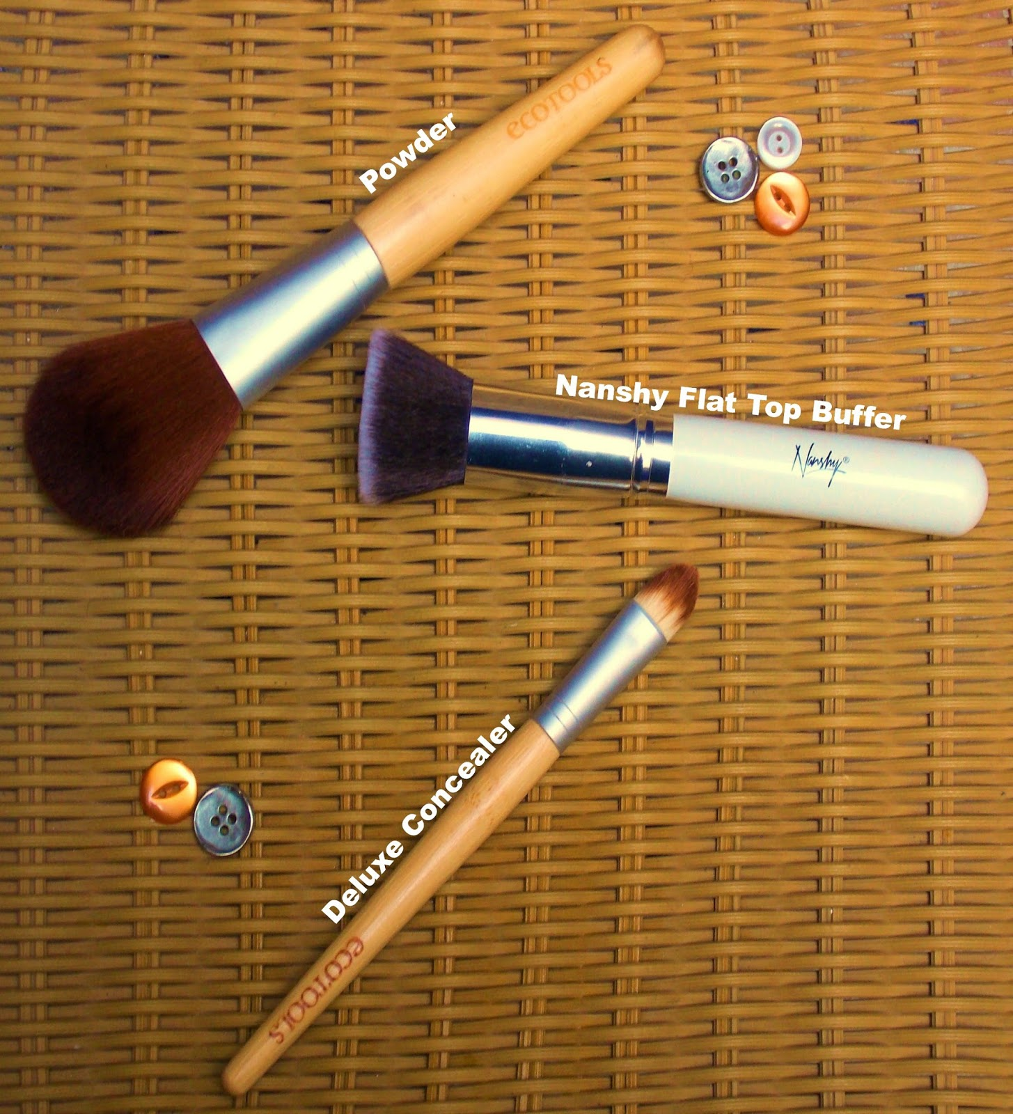 Nanshy Brushes, EcoTools Make Up Brushes, Beauty, correct tools, daily make up brushes, how to create a flawless base, make up brush collection, using make up brushes, why do I need make up brushes,