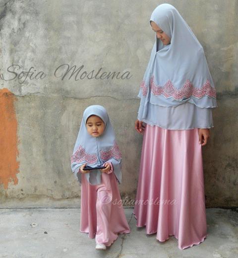 gamis kembaran ibu dan anak