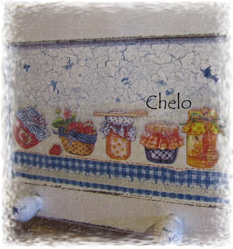 El rinc n de chelo colgador para la cocina de mi casa de for Perchero para cocina