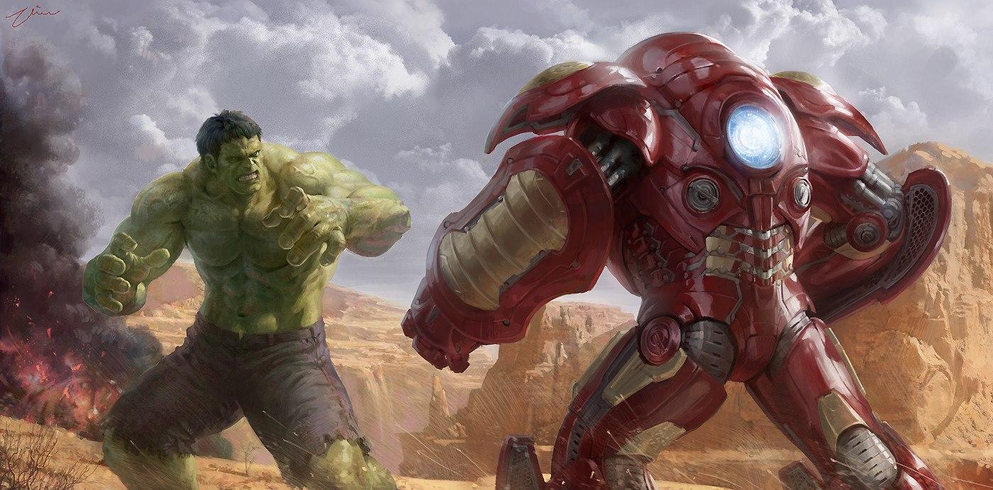 Hulk vs Hulk Buster aet by Hanho LeeIron Hulk