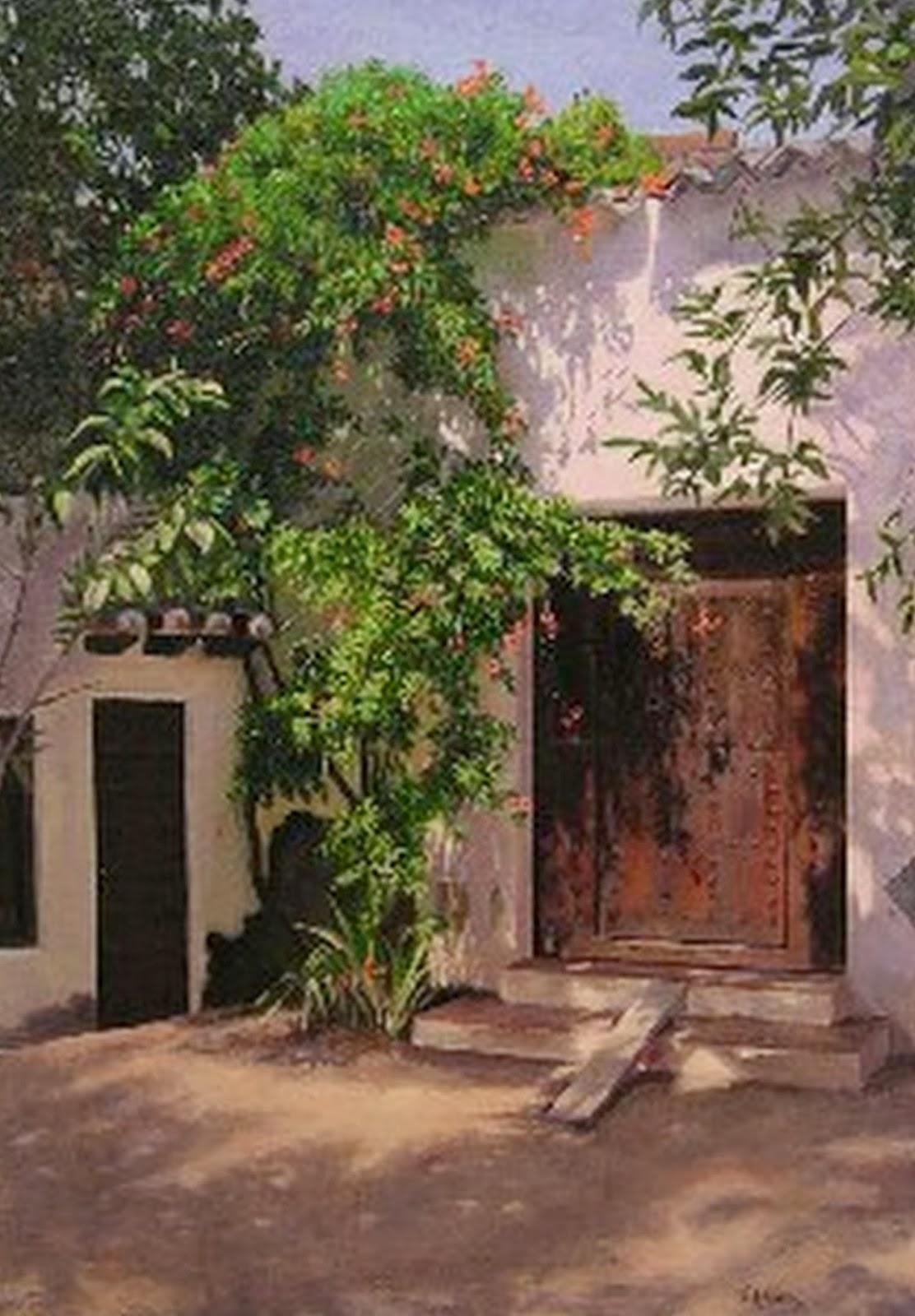Im genes arte pinturas paisajes comerciales obras de - Oleos decorativos ...