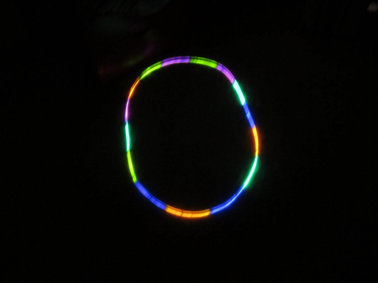 Glow Sticks Dance Dance in Glow Costumes so