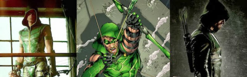 Arrow versus Green Arrow.