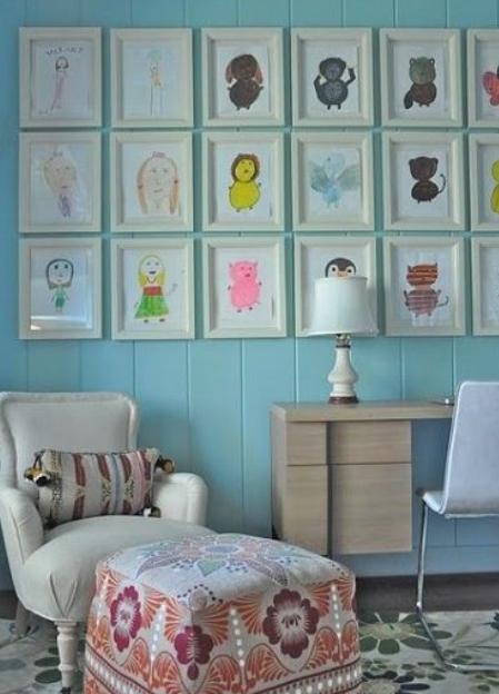 decoracion con dibujos infantiles