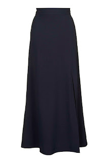 Maxi Dress in Navy from Topshop
