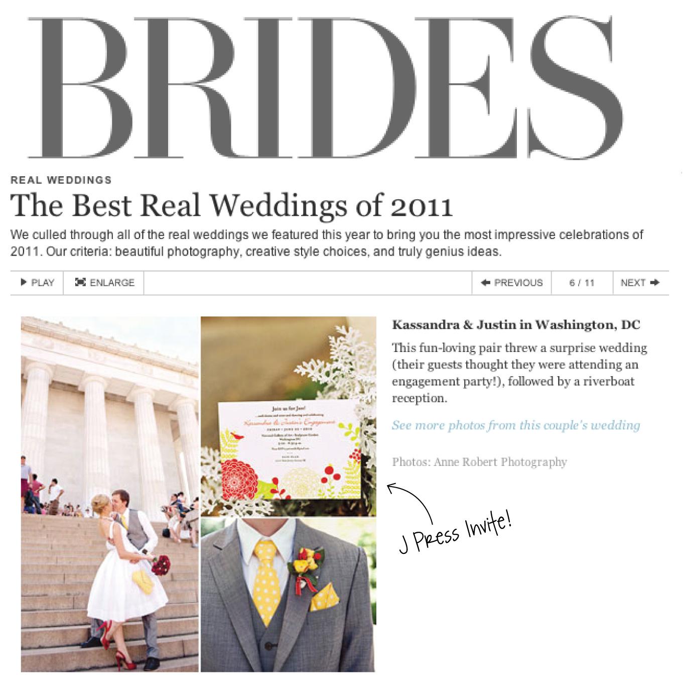 JPress Designs: Featured in Brides!