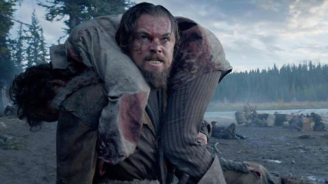 "Leonardo DiCaprio braves the wilderness in Alejandro González Iñárritu's ""The Revenant"""