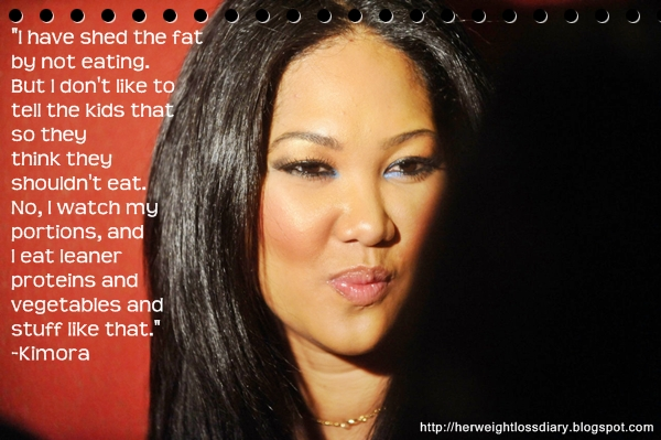 Kimora; You've Hit a Weight Loss Plateau! 7 Things to Do When You Think You're Stuck
