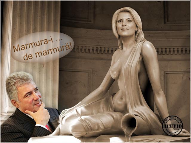 Elena Udrea Adriean Videanu Marmura funny photo