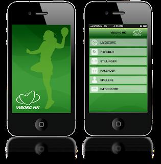 Viborg HK håndbold app