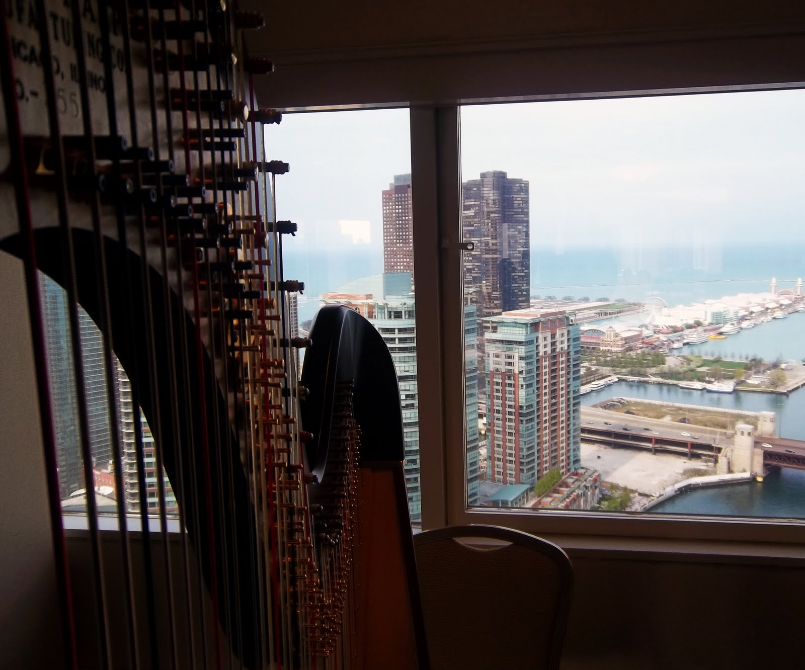 Chicago harpist corporate open house music the classic for Chicago house music classics