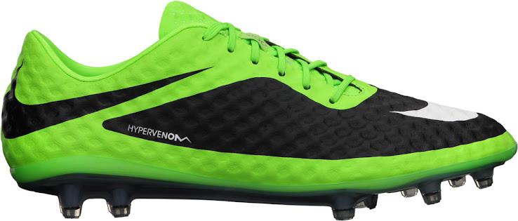 Nike Hypervenom Grün / Schwarz