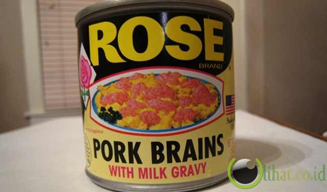 Pork Brains in Milk Gravy